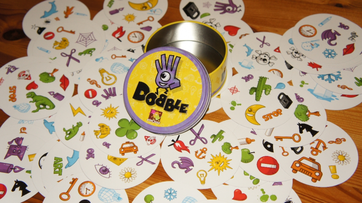 DOBBLE E SMILEY GAMES